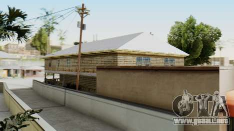New CJs House para GTA San Andreas tercera pantalla
