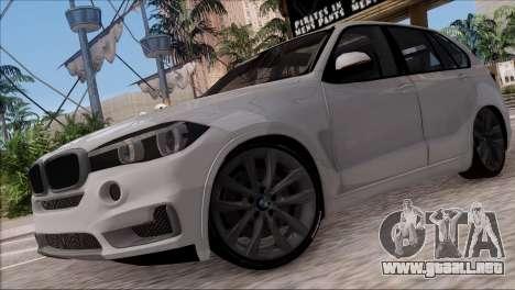 BMW X5 F15 BUFG Edition para GTA San Andreas left