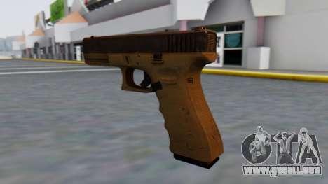 Glock 17 para GTA San Andreas segunda pantalla