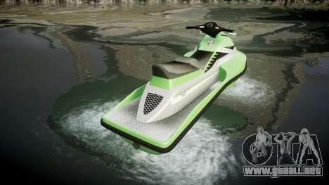 GTA V Speedophile Seashark para GTA 4 Vista posterior izquierda