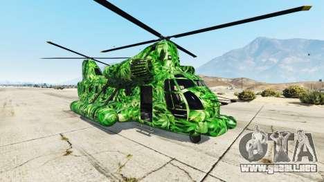 GTA 5 Western Company Cargobob Cannabis
