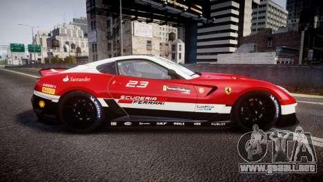 Ferrari 599XX 2010 Scuderia Ferrari para GTA 4 left