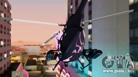 GTA 5 Buzzard para GTA San Andreas left