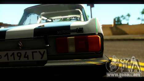 Moskvich 2140 Peklo (Infierno Equipo para GTA San Andreas vista hacia atrás
