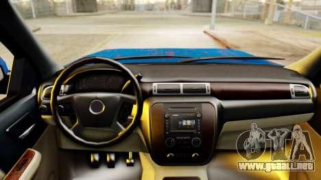 Chevrolet Silverado 2010 TLoU Edition para la visión correcta GTA San Andreas