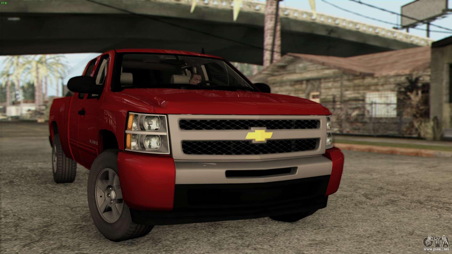 Chevrolet Silverado 1500 Lt 2010 Para Gta San Andreas