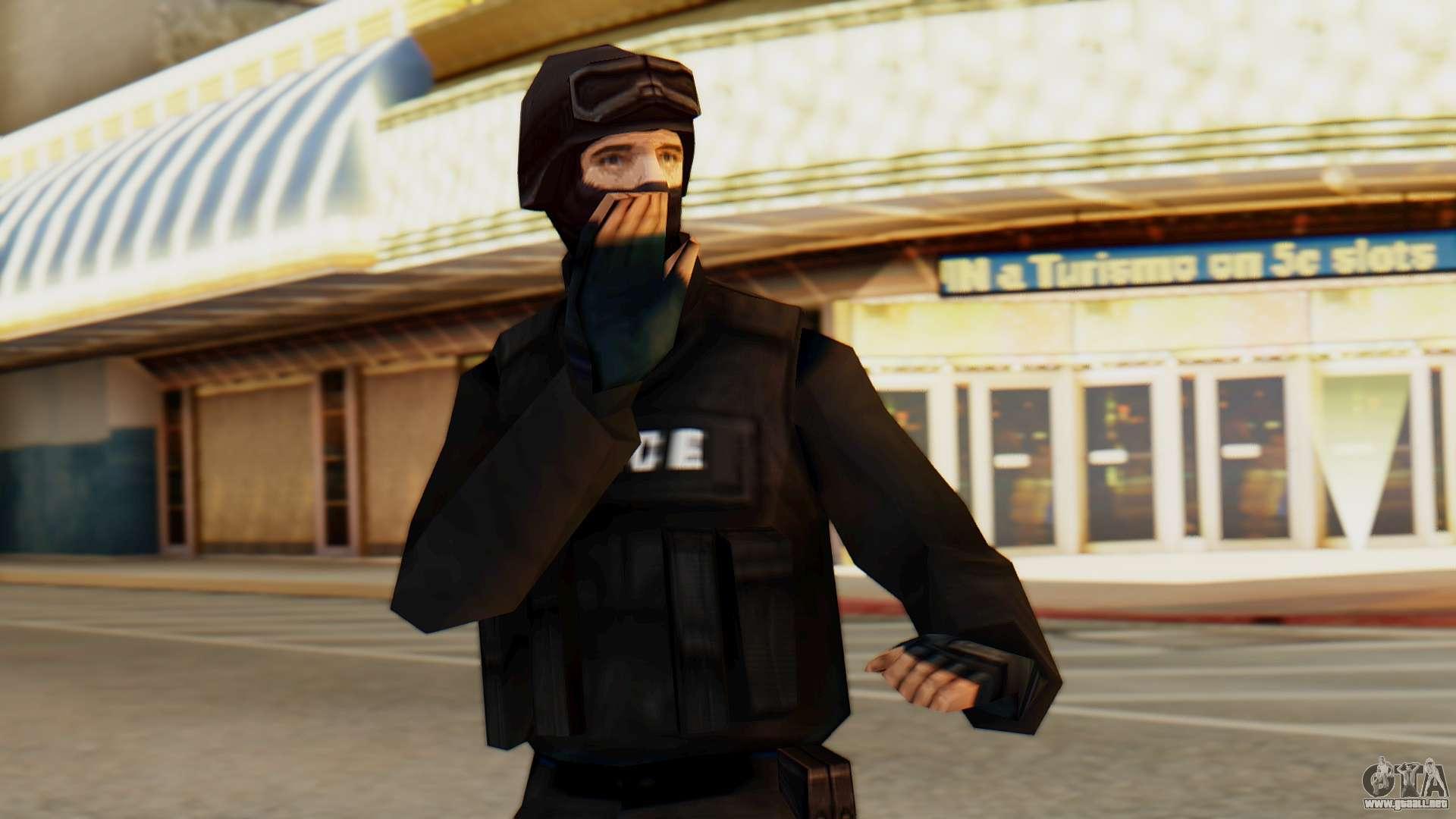 285 75 16 >> Modificado SWAT para GTA San Andreas