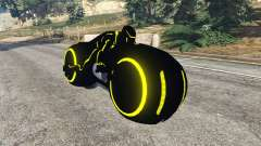 Tron Bike yellow