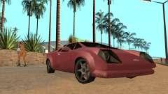 GTA VC Infernus SA Style para GTA San Andreas