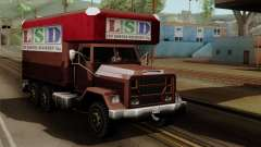 New Flatbed Industrial para GTA San Andreas