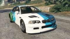BMW M3 GTR E46 PJ1 para GTA 5