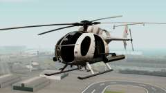 AH-6J Little Bird para GTA San Andreas