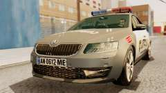 Skoda Octavia A7 Georgia Police