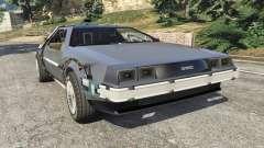 DeLorean DMC-12 Back To The Future v0.1