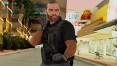 [GTA5] BlackOps2 Army Skin Black para GTA San Andreas