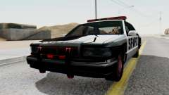 Police SF with Lightbars para GTA San Andreas