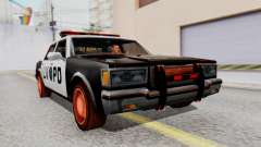 Police LV with Lightbars para GTA San Andreas