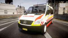 Mercedes-Benz Sprinter NSW Ambulance [ELS] para GTA 4