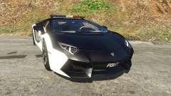 Lamborghini Aventador LP700-4 Police para GTA 5