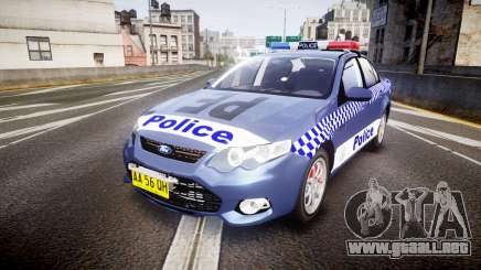 Ford Falcon FG XR6 Turbo NSW Police [ELS] para GTA 4