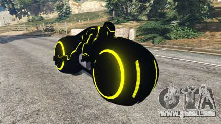 Tron Bike yellow para GTA 5