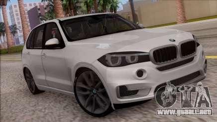 BMW X5 F15 BUFG Edition para GTA San Andreas