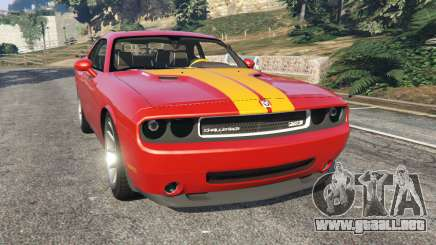 Dodge Challenger SRT8 2009 v0.1 [Beta] para GTA 5