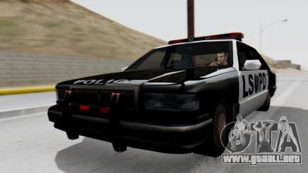 Police LS with Lightbars para GTA San Andreas