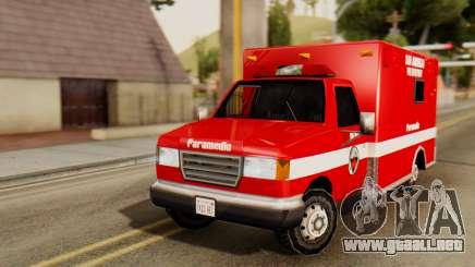 SAFD Ambulance para GTA San Andreas