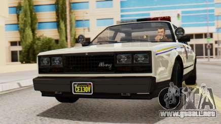 GTA 5 Albany Esperanto Police Roadcruiser IVF para GTA San Andreas