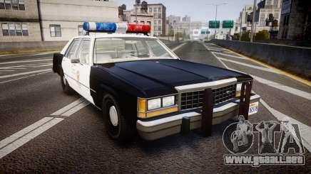 Ford LTD Crown Victoria 1987 LAPD [ELS] para GTA 4