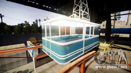 GTA V Cable Car para GTA 4