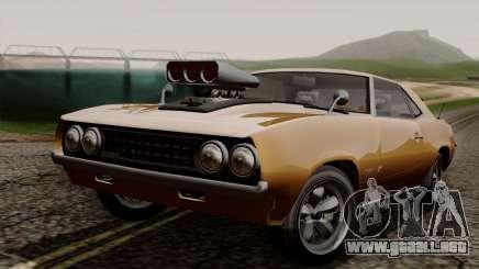 GTA 5 Declasse Vigero para GTA San Andreas