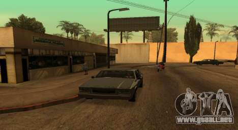 PS2 Graphics for Weak PC para GTA San Andreas