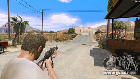 GTA 5 El AEK-971 из Battlefield 4 tercera captura de pantalla