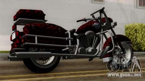Classic Batik Motorcycle para GTA San Andreas left