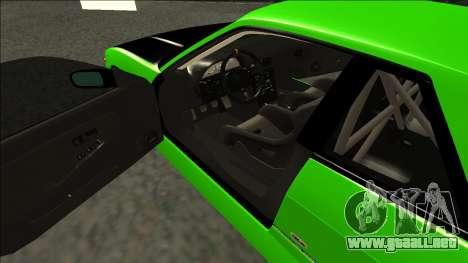 Nissan Silvia S13 Drift Monster Energy para la visión correcta GTA San Andreas