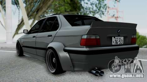BMW M3 E36 Widebody v1.0 para GTA San Andreas left