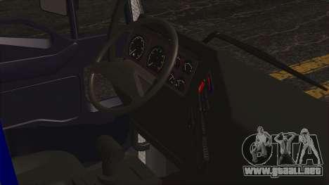 Iveco EuroStar Low Cab para la visión correcta GTA San Andreas