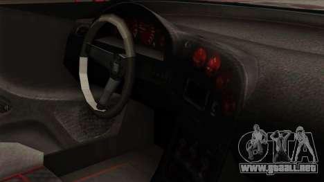 GTA 5 Elegy RH8 para GTA San Andreas vista hacia atrás