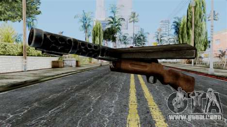 MP18 from Battlefield 1942 para GTA San Andreas