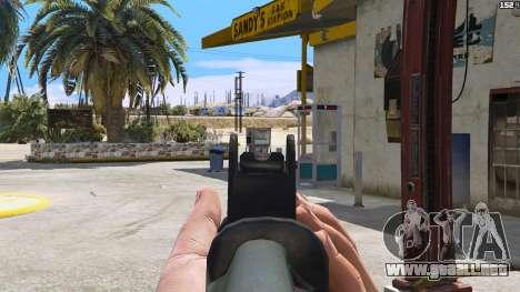 GTA 5 SAIGA de Battlefield 4 cuarto captura de pantalla