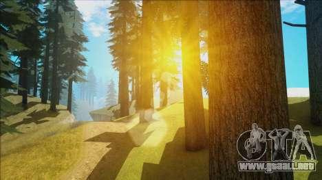 Fantastic ENB para GTA San Andreas sucesivamente de pantalla