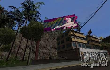 Candy Suxx de la cartelera de reemplazo para GTA San Andreas