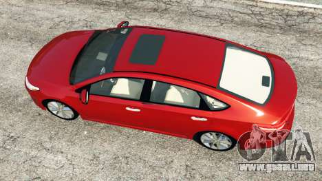 GTA 5 Toyota Avalon 2014 vista trasera
