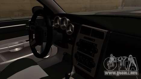 Dodge Charger 2006 DUB para la visión correcta GTA San Andreas