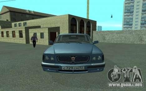 GAS 3110 Volga para la visión correcta GTA San Andreas