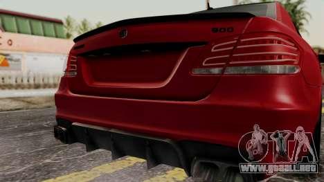 Brabus B900 para GTA San Andreas vista hacia atrás