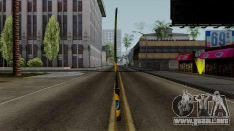 Brasileiro Katana v2 para GTA San Andreas segunda pantalla