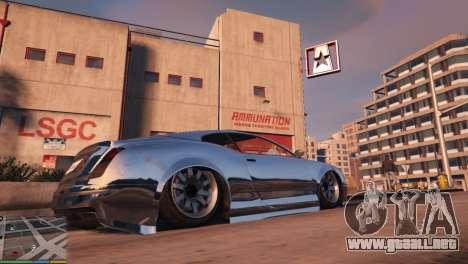 GTA 5 Suspensión de aire v1.0 cuarto captura de pantalla